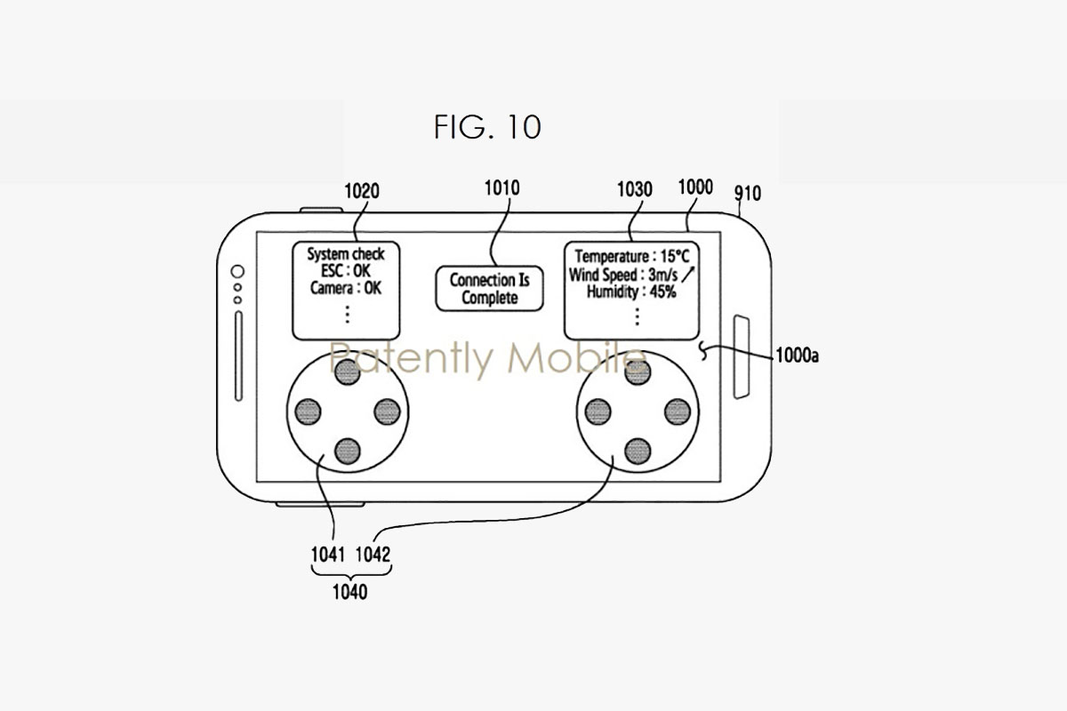 Samsung Drone Patent