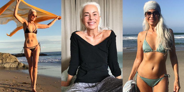 64歲法國奶奶Yazemeenah 超辣泳裝照驚豔眾人!20年來每天堅持練瑜珈維持少女身材