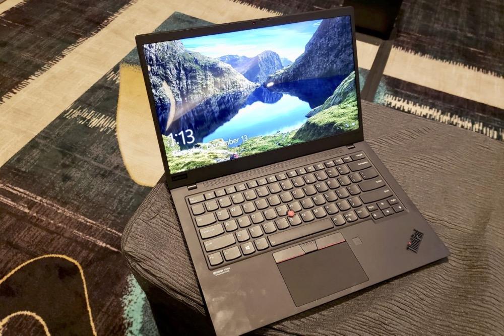 背面イメチェン 新ThinkPad X1 Carbon(2019)をレノボが発表 - Engadget