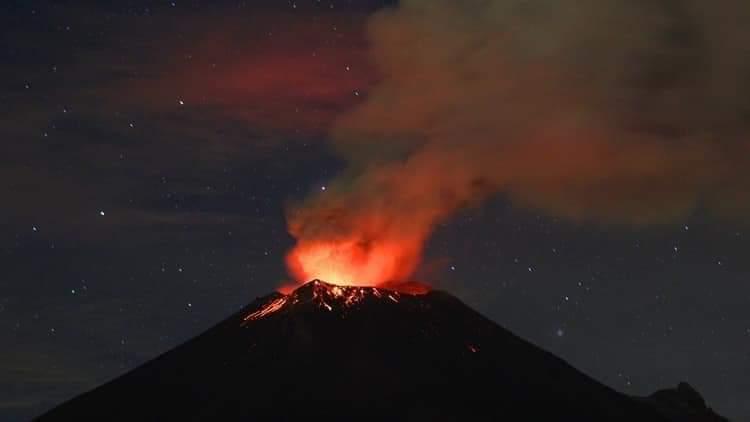 El coloso es considerado como un volcán activo en México, sin que hasta ahora registre una