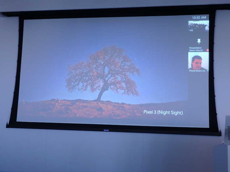 Pixel 3ノーマルモードと夜景モード比較