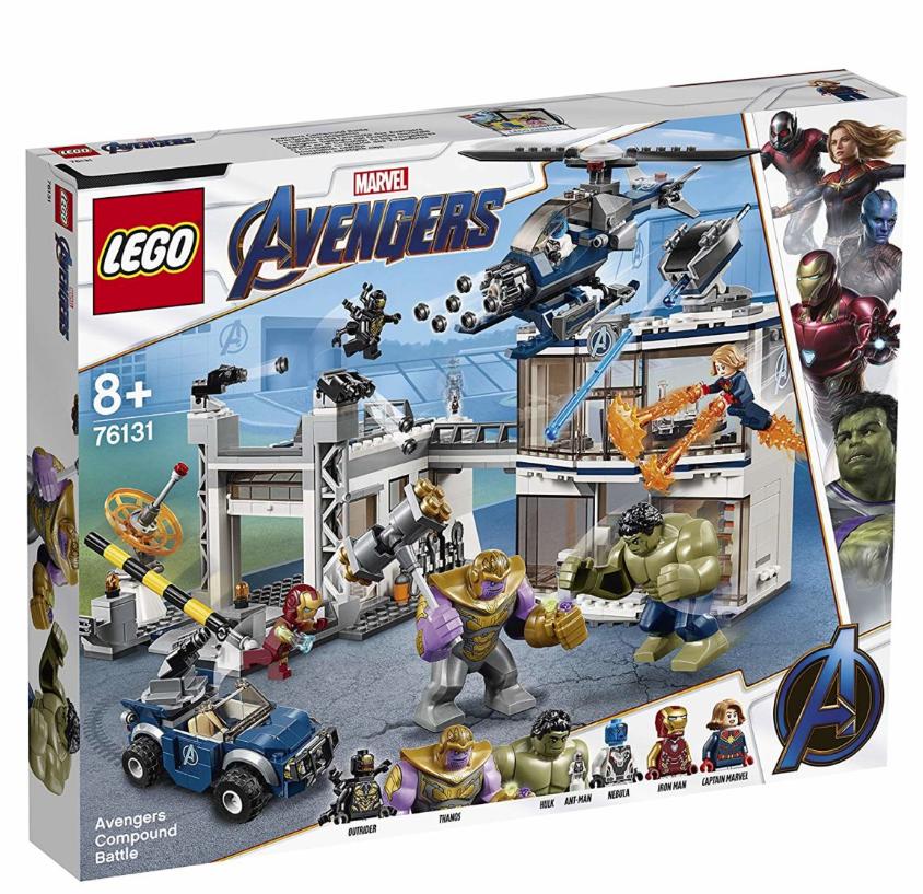 """Certaines boites de Lego disponibles pendant quelques sur le site Amazon pour la sortie du film """"Avengers"""