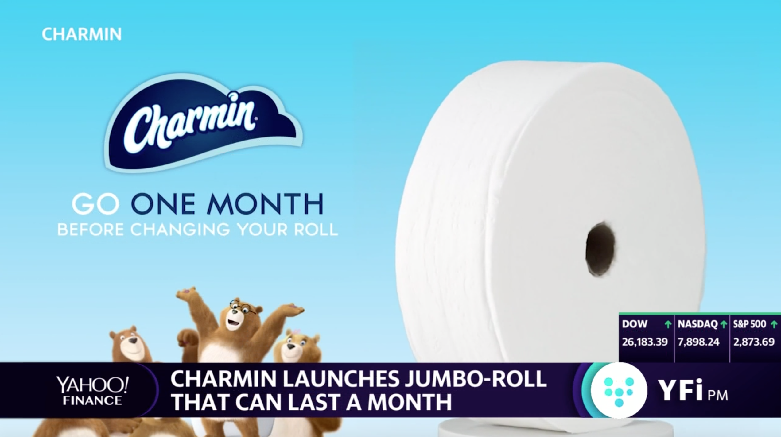 This toilet paper will last you a month