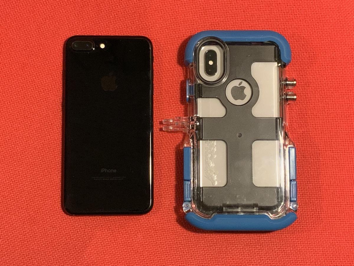 7cfcf9cacc ちなみに一番上の写真でProShot Caseの左隣においているのはiPhone 7 Plusです。並べてみるとそのゴツさがわかりますよね。 さて、 ケースの取り付け方です。