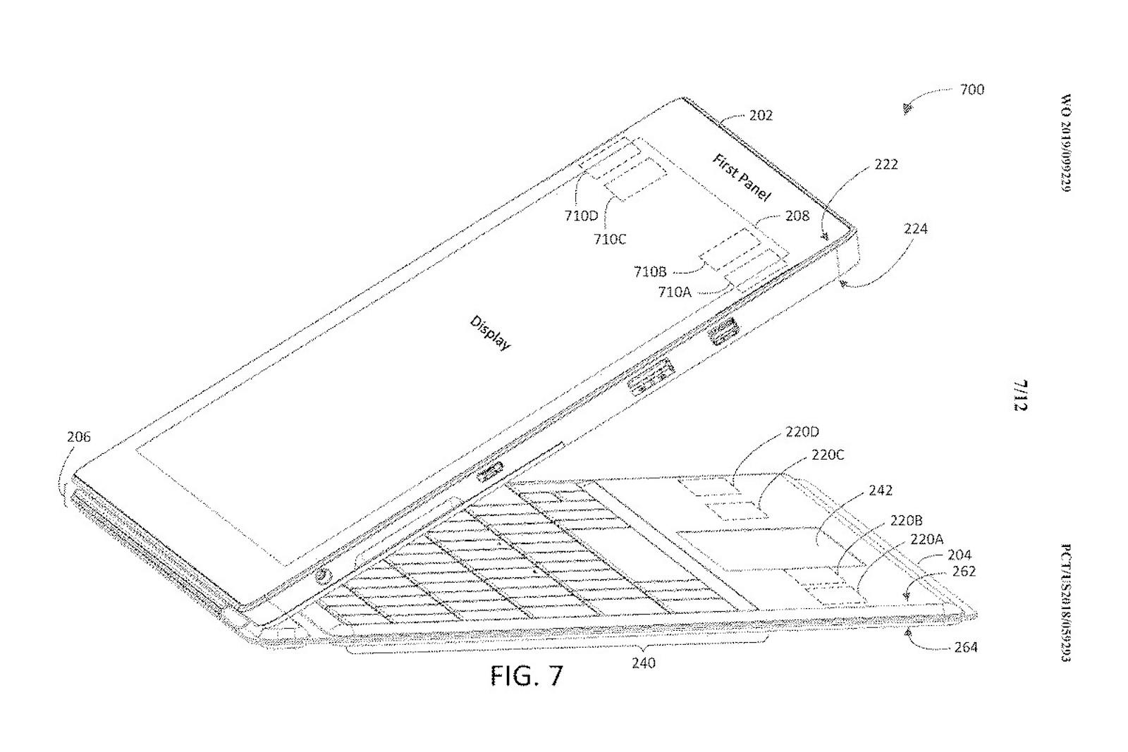 Surface Pro 7 Patent