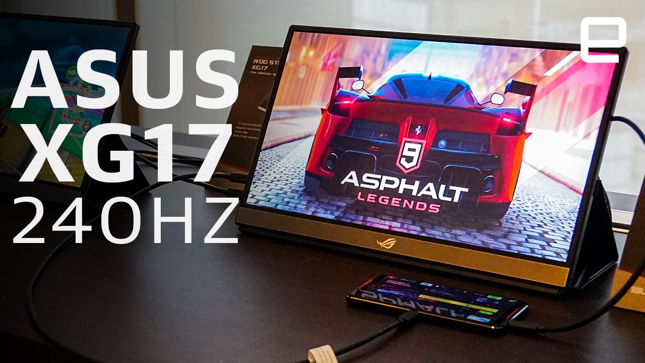 ASUS 240Hz Portable Monitor