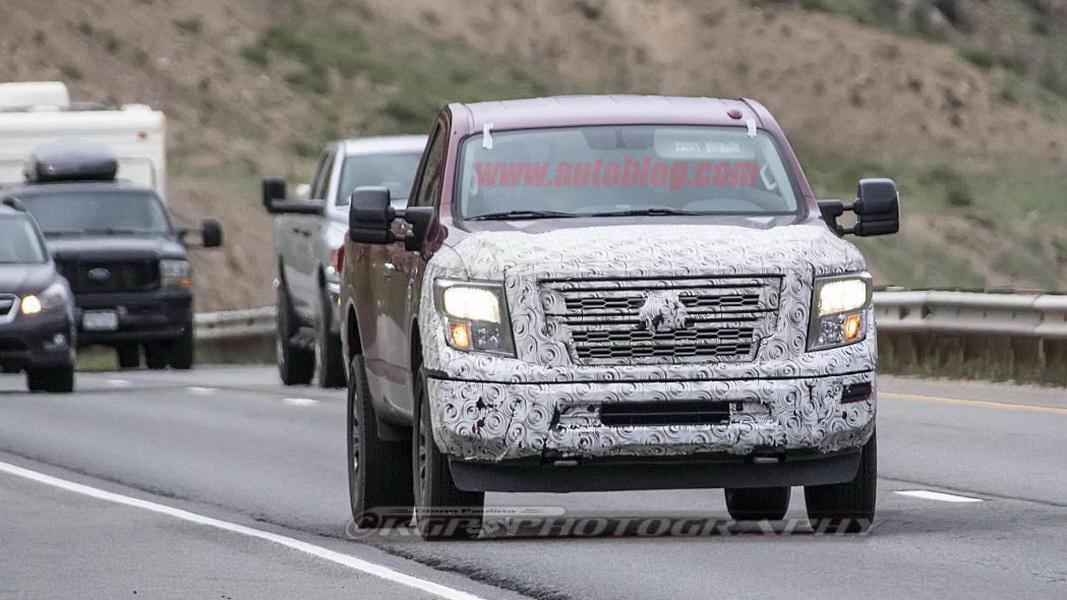 圖 / 美國皮卡貨車市場銷量驚人,旗下多款皮卡貨車皆深受好評的Nissan,日前被拍到2020 Nissan Titan XD間諜照。