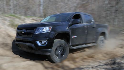 Autoblog Mid Size Truck Comparison