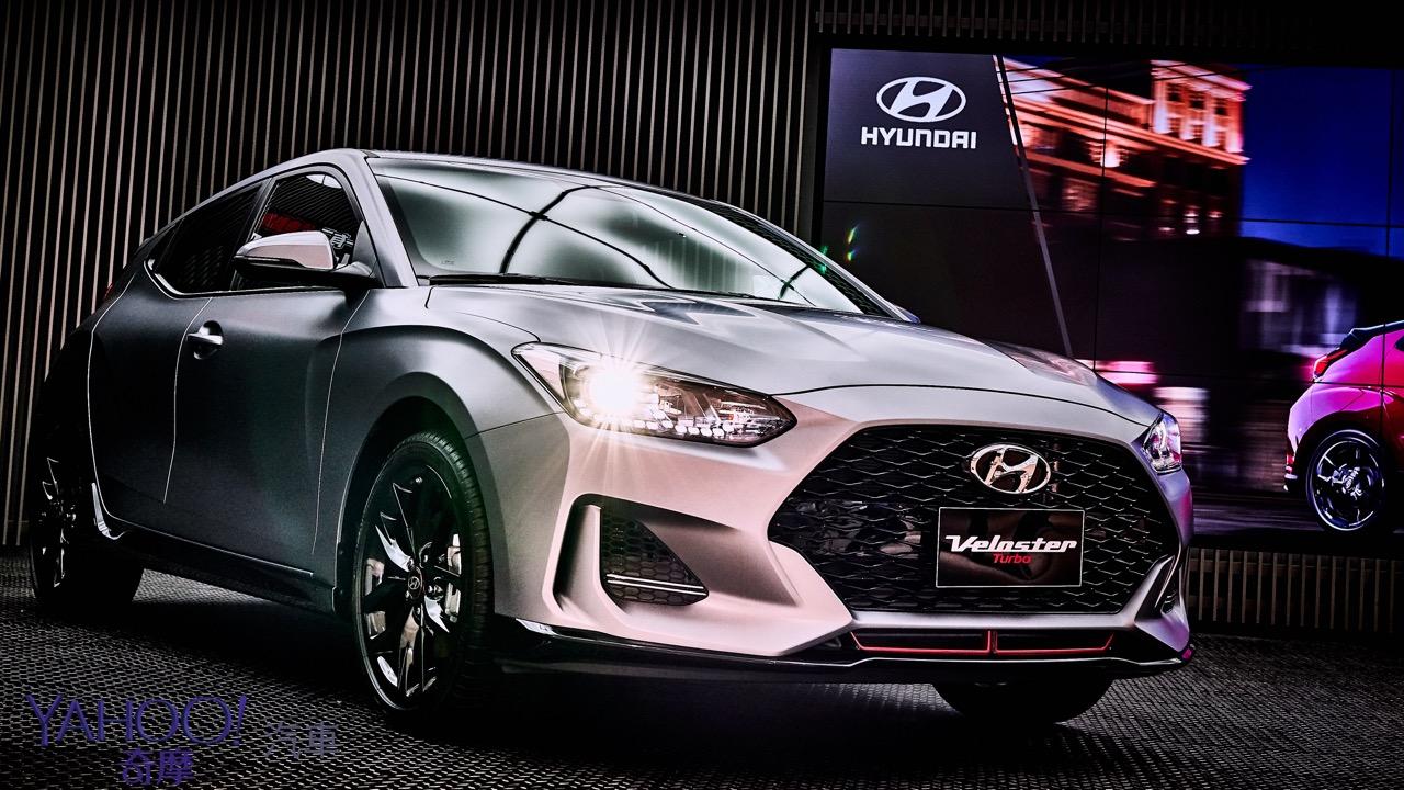 絕無僅有的不對稱鋼砲!大改款Hyundai Veloster正式上市115.9萬起!
