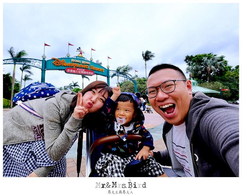香港迪士尼樂園親子遊