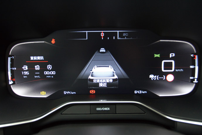 12.3吋全彩數位儀表顯示幕,給予相當清晰的行車資訊。 版權所有/汽車視界