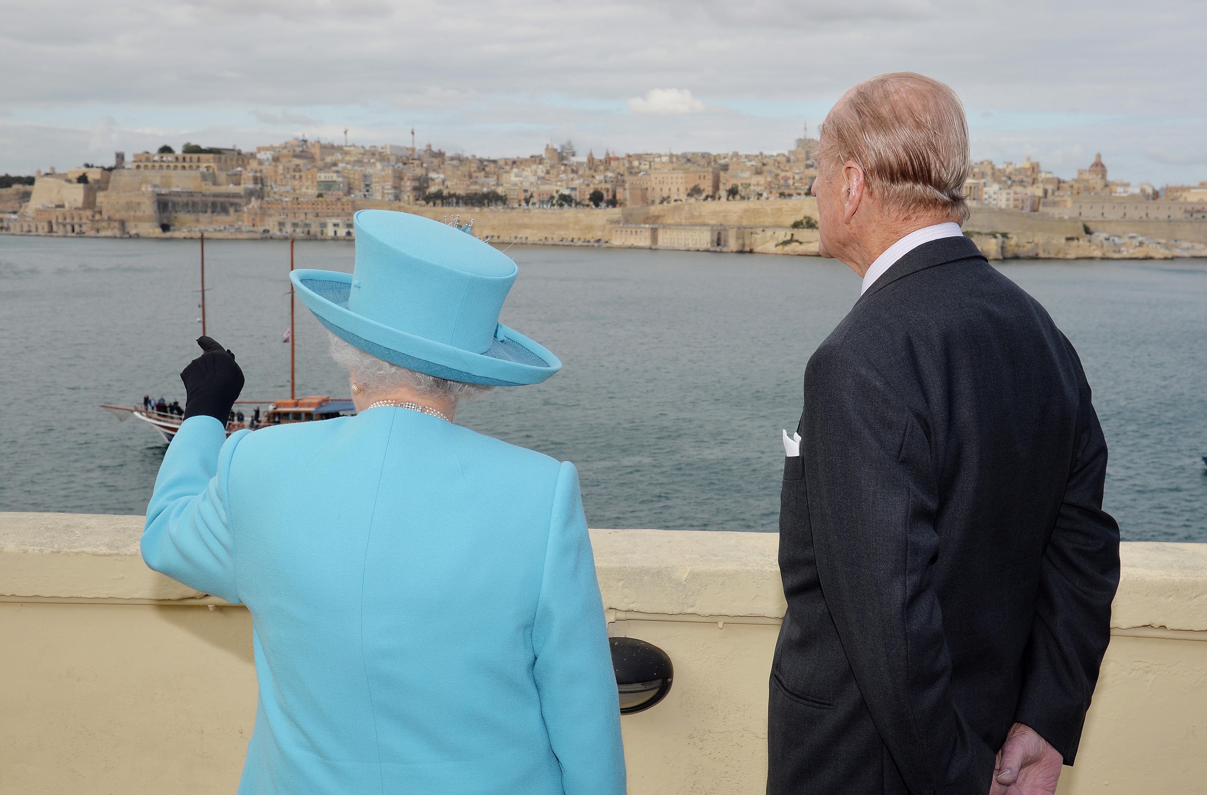 The Queen and Prince Philip last visited Malta back in 2015 [Photo: Getty]