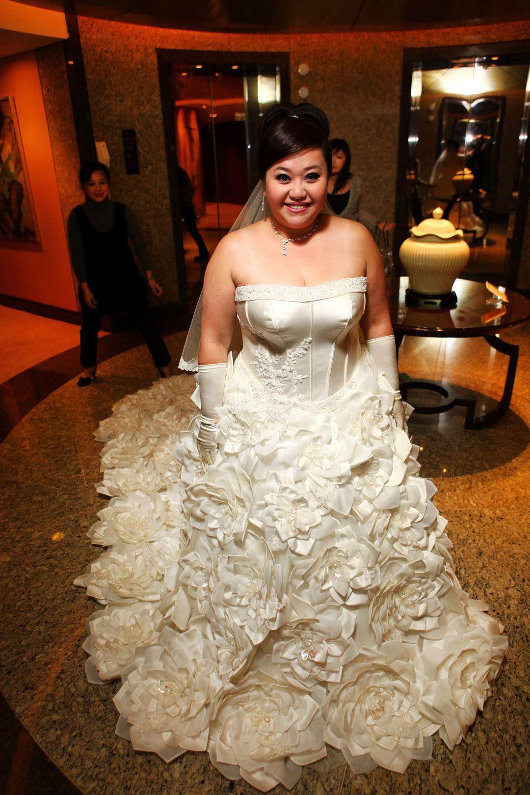 鍾欣凌:新娘想要容光煥發、氣色姣好,我覺得不論胖瘦,「眼神」很重要,婚禮前一天一定要睡飽!