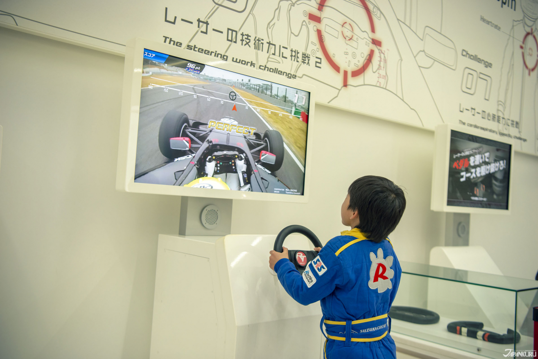 展示廳2樓的互動遊樂設施,無論大人小孩看了都想去把玩一下。