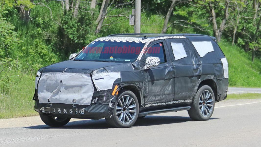 圖 / 新一代Cadillac Escalade間諜照首度曝光。
