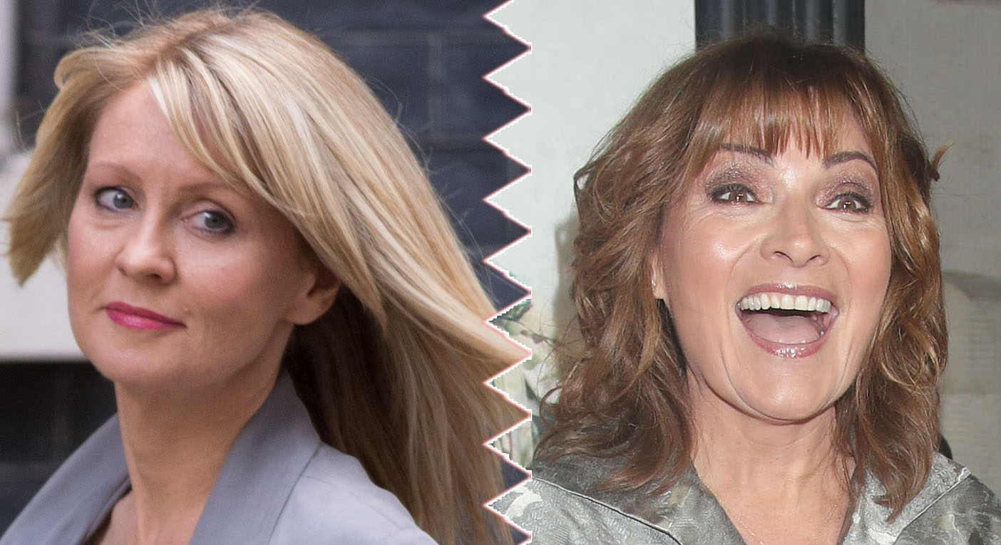 Esther McVey and Lorraine Kelly used to share a dressing room when they worked on breakfast TV