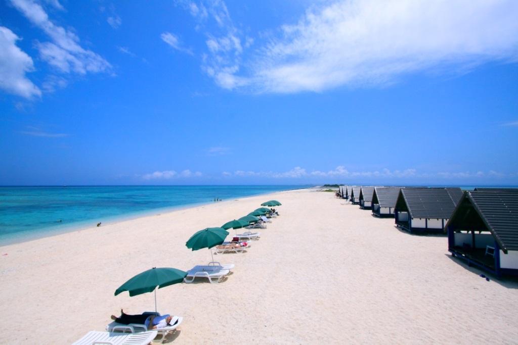 ▲沖繩Nagannu島-海水浴場。(圖/Tripbaa趣吧!亞洲自由行專家)