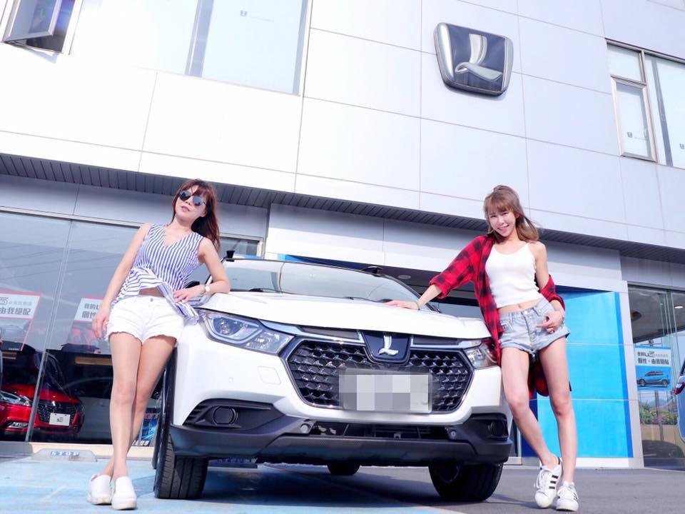 梓梓為了慰勞媽媽(左)辛苦 購入Luxgen U5