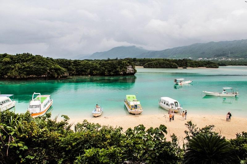 ▲透明獨木舟體驗地點-沖繩石垣島。(圖/©Saori K/©JNTO)