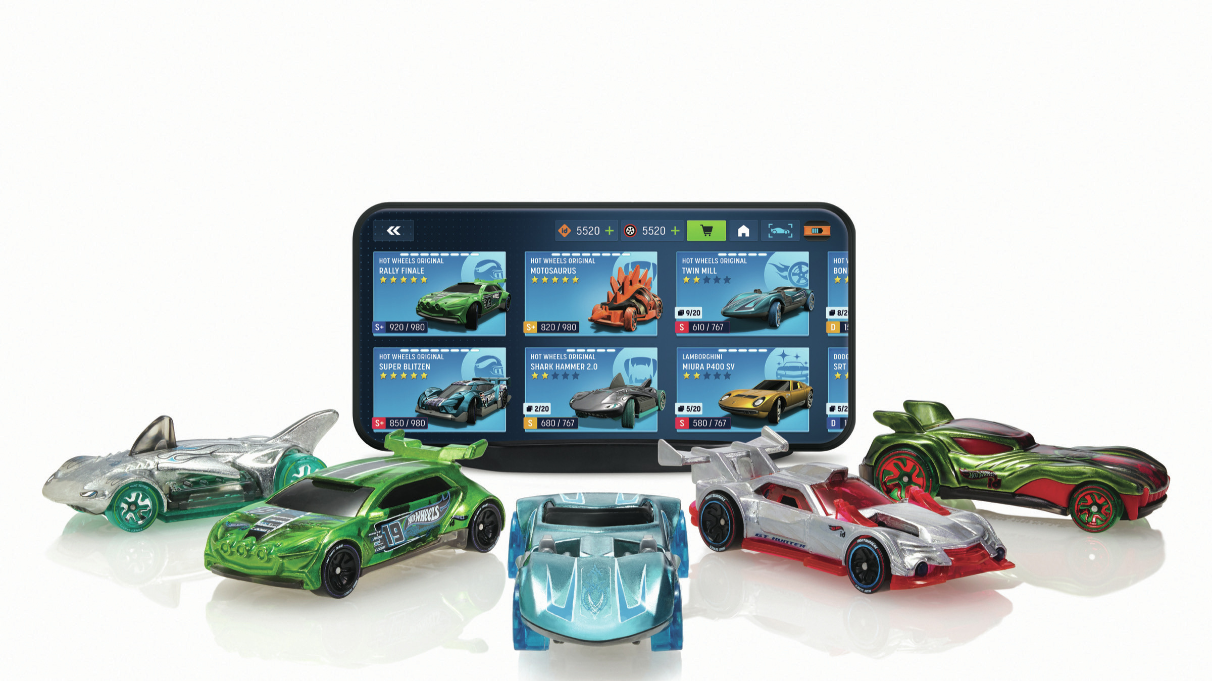 Hot Wheels' Latest Cars Can Be Raced On- And Offline