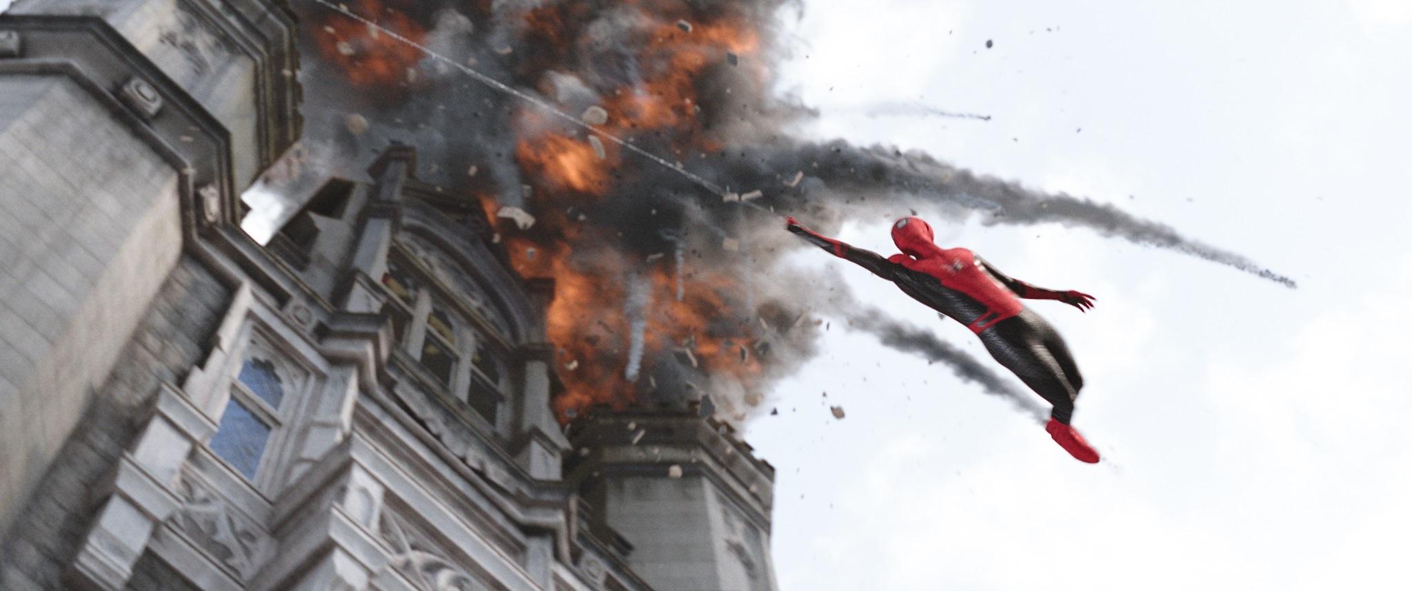 蜘蛛人:離家日