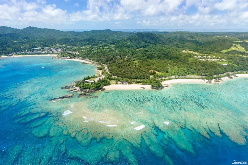 沖繩北部的古宇利島