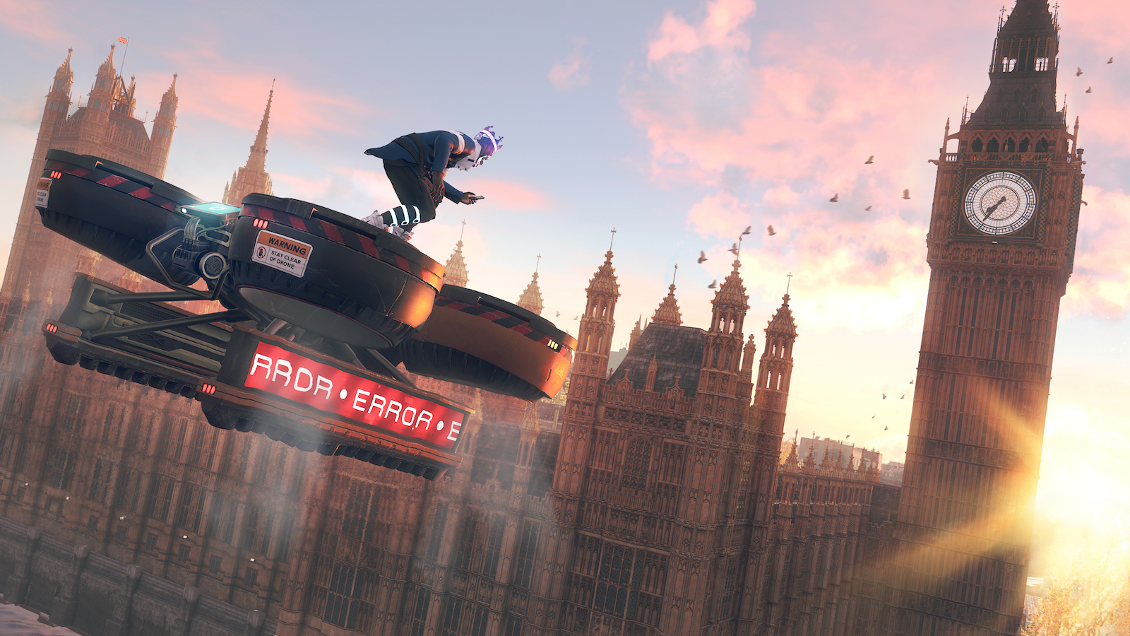 Playing as many Londoners in 'Watch Dogs: Legion'