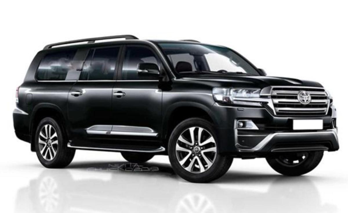 此為下一代 Toyota Land Cruiser 預想圖。