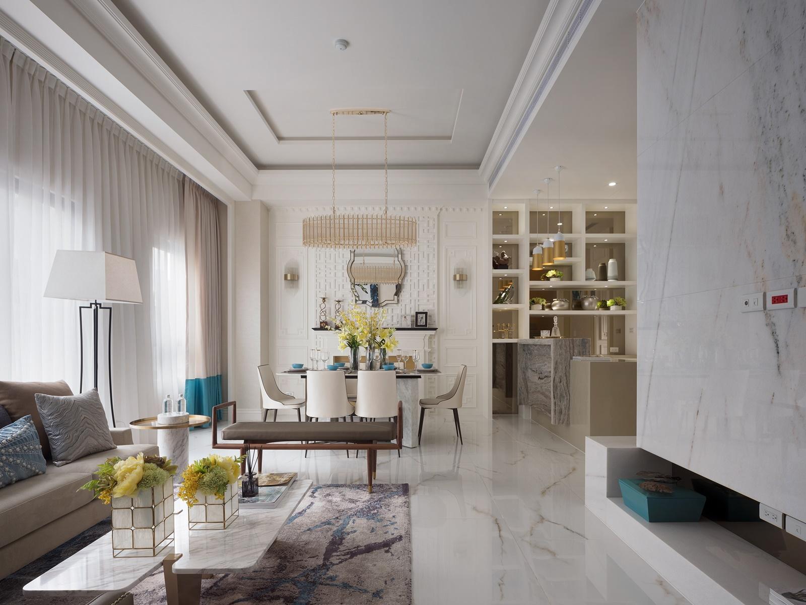 客廳 / 新古典風
