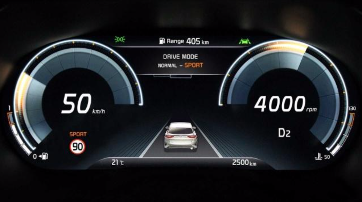Kia 即將在 6 月發表的 Xceed Crossover 跨界休旅,有望搭載大尺寸數位儀錶板。