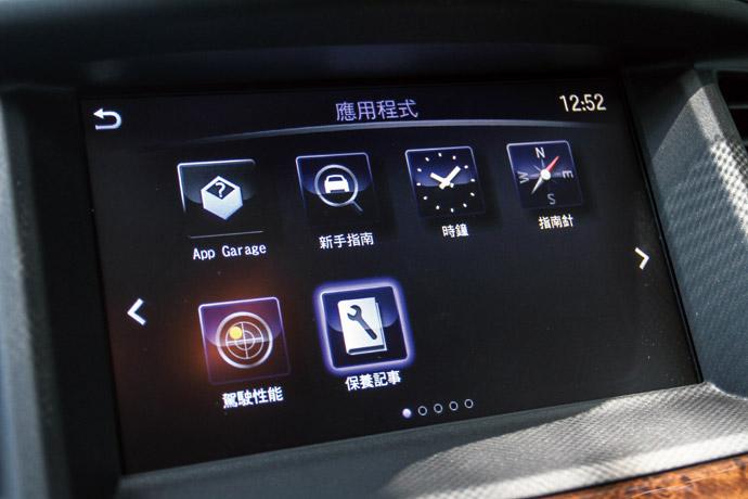 配有InTouch的觸控螢幕,並且結合多媒體播放系統與原廠中文衛星導航。 版權所有/汽車視界