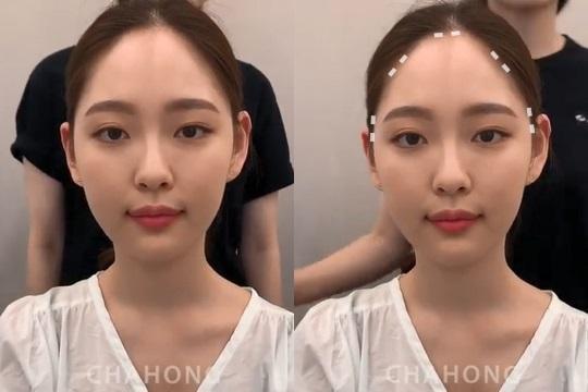 韓國髮型師超強「髮際線整形」技巧