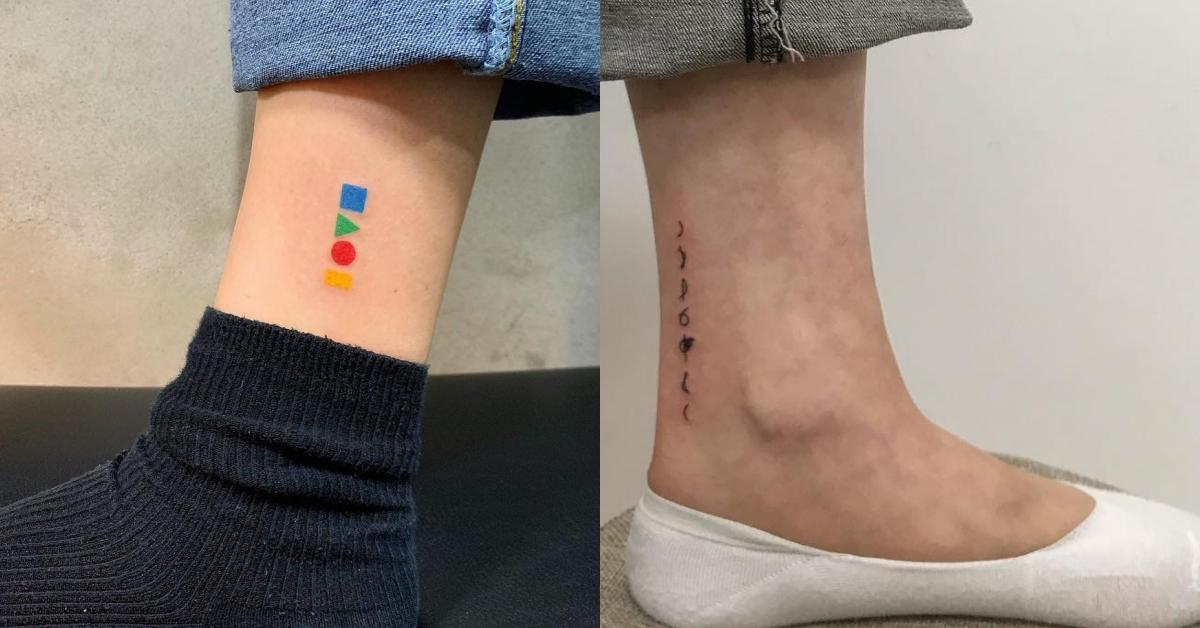 炫雅也瘋的「塗鴉風」彩色刺青,2019文青最愛的7個刺青部位