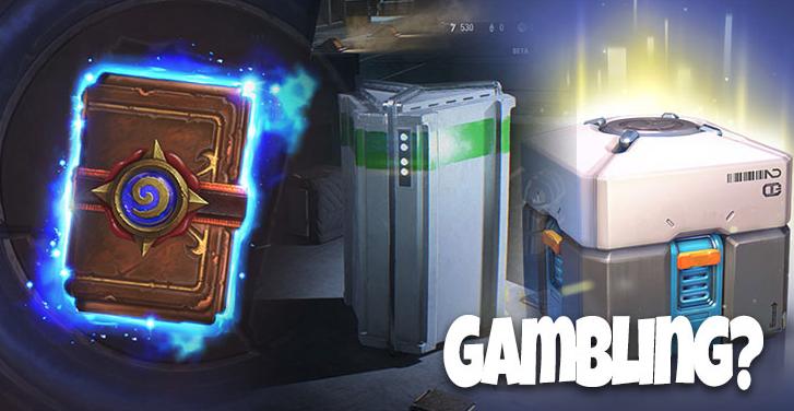 許多遊戲都有著戰利品箱的機制