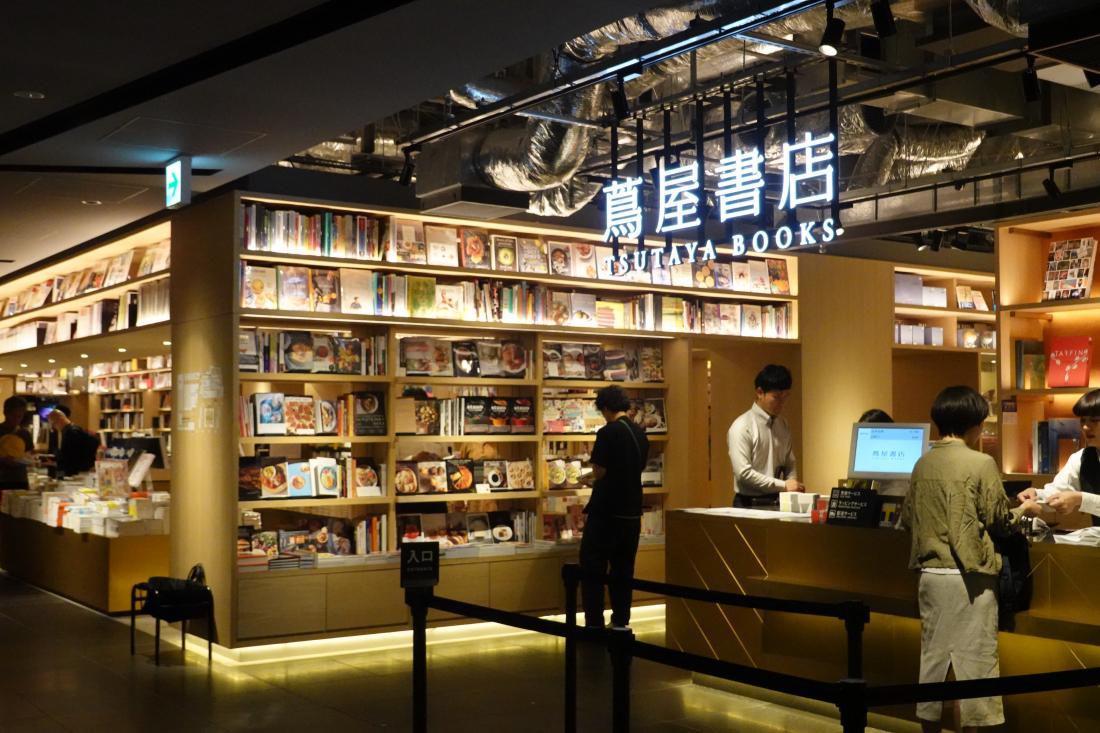 GINZA SIX的銀座蔦屋書店
