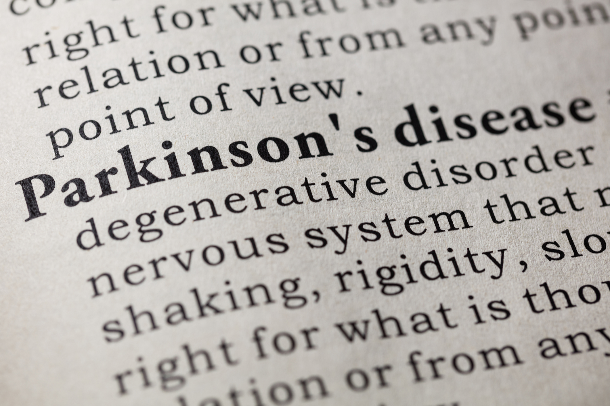 What are the signs of Parkinson's disease? (Photo: Getty)