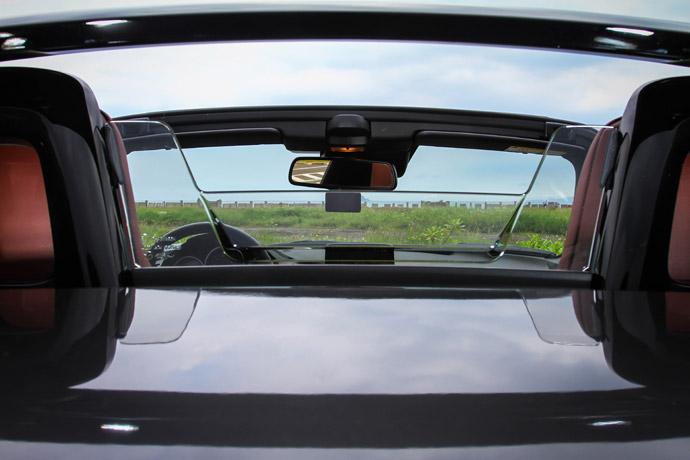 防滾籠採用黑化設計,中央為迴風網結構。 版權所有/汽車視界