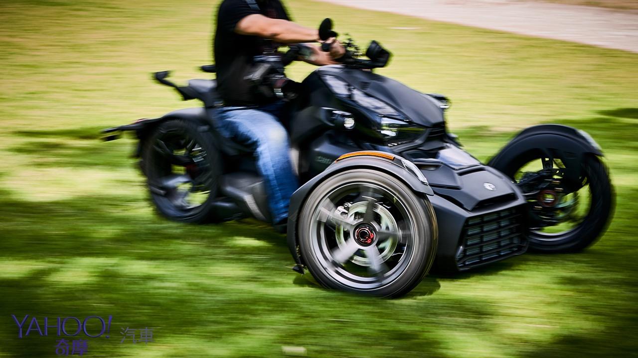 前進追風新領域!BRP Can-Am全新入門級三輪摩托車Ryker正式上市!