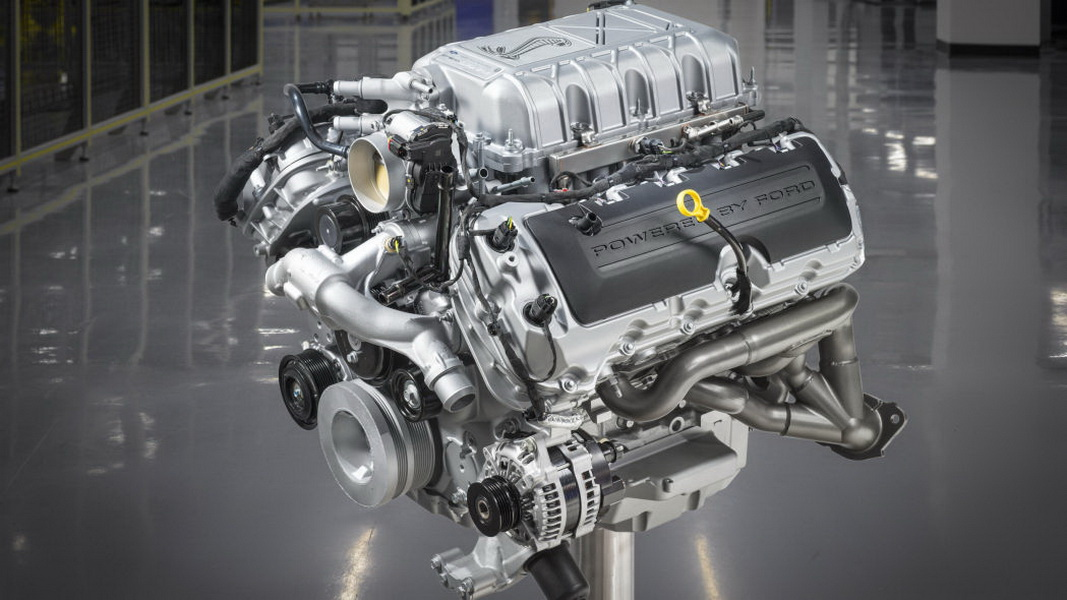 圖 / 2020 Ford Mustang Shelby GT500引擎究竟能產生多少馬力與扭矩?答案是760馬力、625磅-英尺扭矩。
