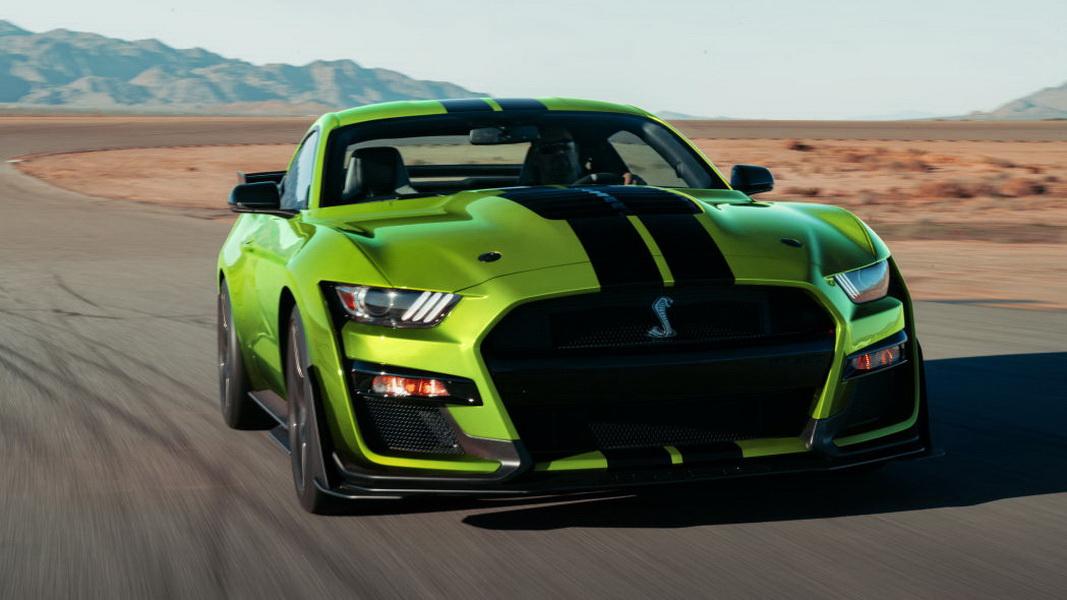 圖 /2020 Ford Mustang Shelby GT500不僅有超高馬力,拜搭載雙離合變速器所賜,能在100毫秒內輕鬆換檔。