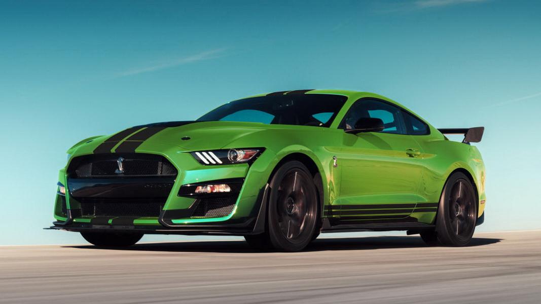 圖 / 2020 Ford Mustang Shelby GT500將採用性能更棒的引擎,完勝競爭對手。