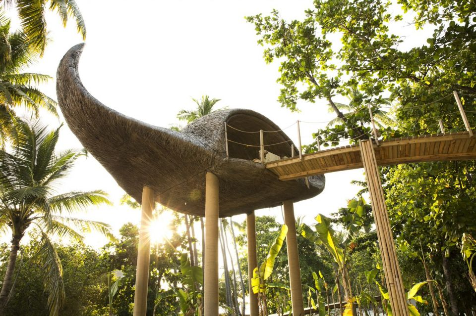 小孩放風大人放鬆/「樹屋、兒童水療室、兒童廚房!」這間馬爾地夫新開的度假村不只蜜月天堂,更是孩子的遊樂園