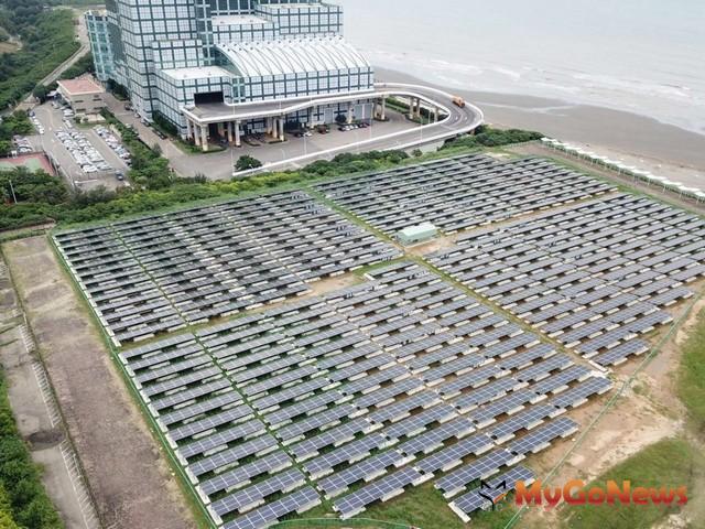 ▲新竹市府力推學校公有地太陽能發電,「綠電變黃金」租金收入逾500萬(圖:新竹市政府)