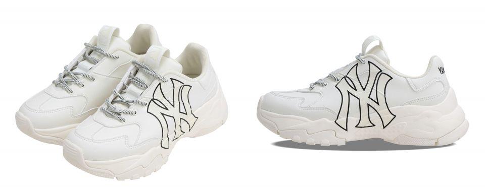 Le coq sportif Spor粉紅老爹鞋 vs. MLB Korea Chunky Shoes X 韓國人氣網路漫畫《女神降臨》潮牌老爹鞋 伴你成功脫單