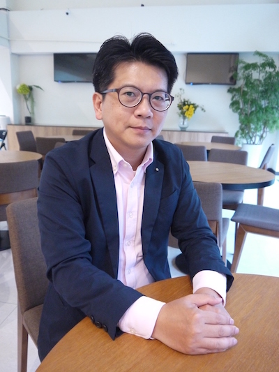 ▲住宅消保會創會理事長吳翃毅。