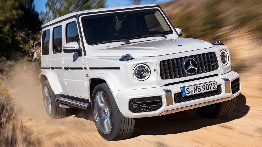圖 / Mercedes-AMG G 63 W464設計上以G 500車型為參考,以超經典的方正樣貌呈現。