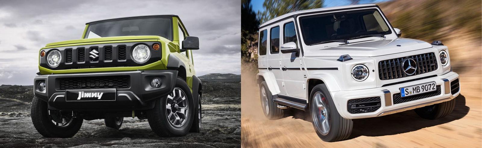 圖 / Suzuki Jimny VS Mercedes-AMG G63 W464硬派越野休旅無差別對決。