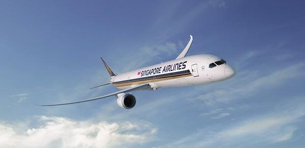 新航波音787-10夢幻客機(圖/新航)