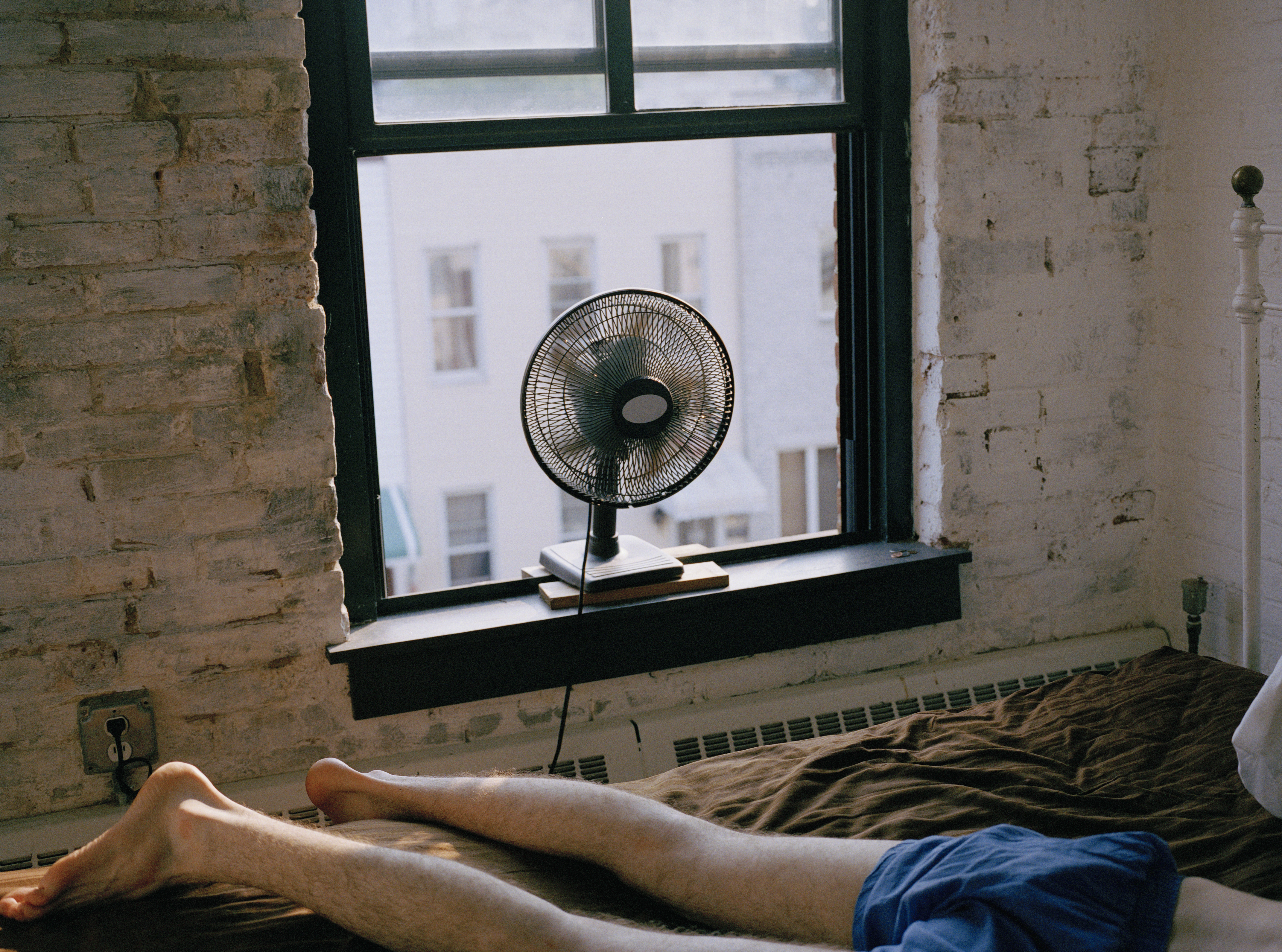 Do you sleep with the fan on during the summer months? [Photo: Getty]