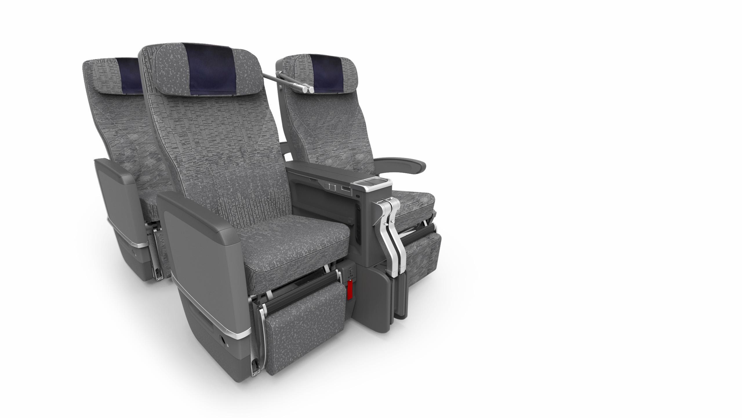 ▲豪華經濟艙的座椅、椅距、腿部伸展空間更寬敞。(圖/ANA)